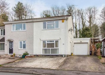 Thumbnail 3 bed semi-detached house for sale in Parklands Close, Rogerstone, Newport