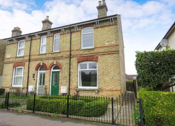 Thumbnail 3 bed semi-detached house for sale in Park Side, St. Ives, Huntingdon