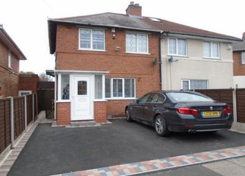 Thumbnail 3 bed semi-detached house for sale in Walden Road, Tyseley, Birmingham