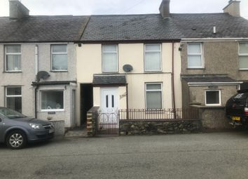 Thumbnail 3 bedroom terraced house for sale in Station Road, Llanrug, Caernarfon