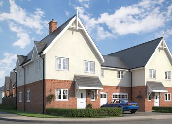 Thumbnail 4 bedroom semi-detached house for sale in The Rosefinch At Countryside At Chesterwell, Mile End, Colchester, Essex