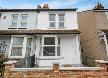 Thumbnail 2 bedroom semi-detached house for sale in Richmond Avenue, Shoeburyness, Essex