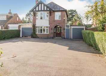 Thumbnail 3 bed detached house for sale in Loughborough Road, Rothley, Leicester