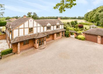 Thumbnail 4 bed detached house for sale in Brockhill Lane, Beoley, Redditch