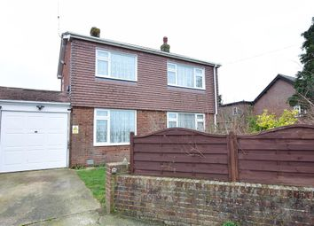 Thumbnail 3 bed detached house for sale in West Ashling Road, Hambrook, Chichester, West Sussex