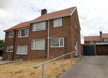 Thumbnail 2 bed semi-detached house for sale in Byron Road, Dinnington, Sheffield, South Yorkshire