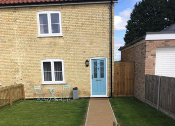 Thumbnail 2 bed end terrace house for sale in Holmsey Green, Bury Saint Edmunds, Suffolk