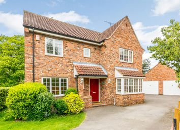 Thumbnail 4 bed detached house for sale in Larch Rise, Easingwold, York
