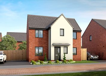 "Thumbnail 3 bed detached house for sale in ""Warwick"" at Long Lands Lane, Brodsworth, Doncaster"