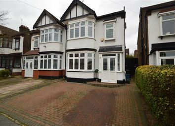 Thumbnail 4 bed semi-detached house for sale in The Crescent, Ilford, Essex