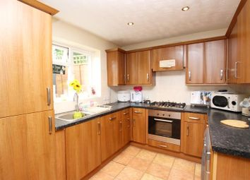 Thumbnail 3 bed terraced house to rent in Blenheim Way, Yaxley, Peterborough