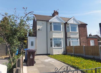 Thumbnail 2 bed semi-detached house for sale in Warrington Road, Prescot, Merseyside