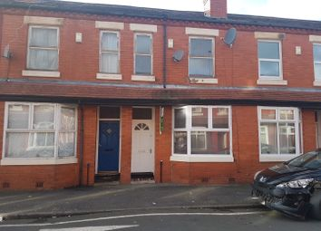Thumbnail 3 bedroom terraced house to rent in Crondall Street, Manchester
