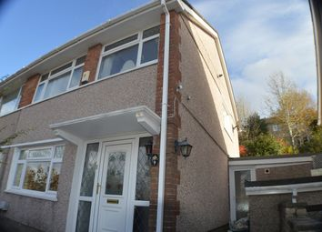 Thumbnail 3 bed semi-detached house for sale in Oakdene Close, Baglan, Port Talbot
