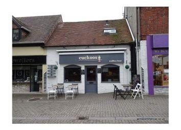 Thumbnail Restaurant/cafe to let in Cuckoos Coffee Bar, 3 Pound Lane, Christchurch, Dorset