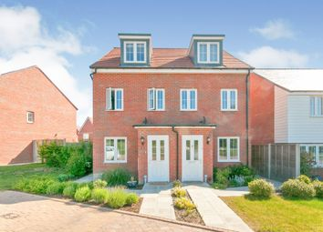 Thumbnail 3 bed town house for sale in White Clover Close, Stone Cross, Pevensey