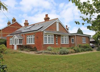 Thumbnail 4 bed detached bungalow for sale in Awbridge Hill, Awbridge, Romsey