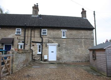 Thumbnail 3 bed semi-detached house for sale in Church Road, Wittering, Peterborough