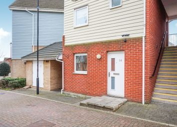 Thumbnail 1 bed flat for sale in Fire Opal Way, Sittingbourne