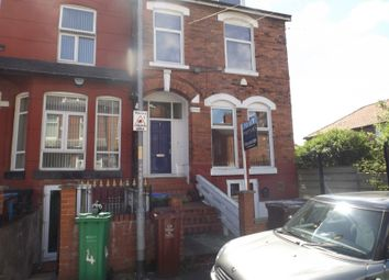 Thumbnail 8 bedroom terraced house to rent in Ash Grove, Longsight, Manchester