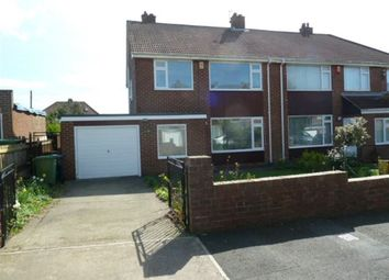 Thumbnail 3 bed semi-detached house to rent in Hillcrest, Sunderland
