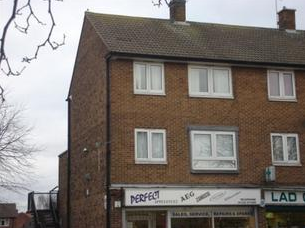 Thumbnail 3 bed flat for sale in Crayford Road, Alvaston, Derby