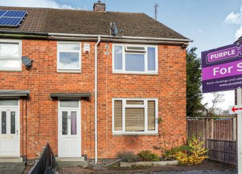 Thumbnail 3 bed end terrace house for sale in Pickwell Close, Leicester