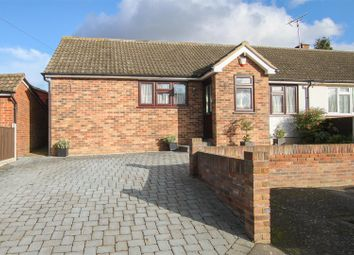 Thumbnail 3 bed semi-detached bungalow for sale in Soames Mead, Stondon Massey, Brentwood