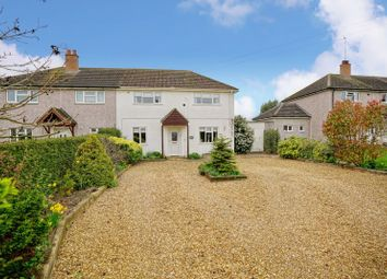 Thumbnail 3 bed semi-detached house for sale in Green End Road, Sawtry, Huntingdon.