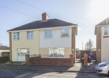 Thumbnail 3 bed semi-detached house for sale in Maesglas Crescent, Newport