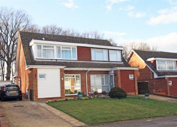 Thumbnail 3 bed semi-detached house for sale in Broadacres, Guildford