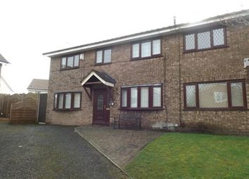 Thumbnail 4 bed semi-detached house for sale in Cottesmore Way, Golborne, Warrington, Greater Manchester