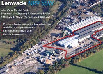 Thumbnail Light industrial for sale in Atlas Works, Norwich Road, Lenwade