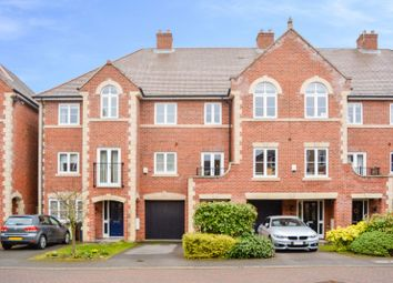 Thumbnail 4 bed town house for sale in Elm Tree Gardens, Stoneygate, Leicester