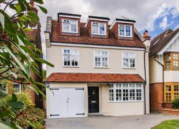 Thumbnail 4 bed detached house for sale in Baldwins Hill, Loughton