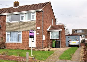 Thumbnail 3 bed semi-detached house for sale in Grantham Avenue, Hamble