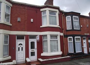 Thumbnail 3 bed terraced house for sale in Linwood Road, Tranmere