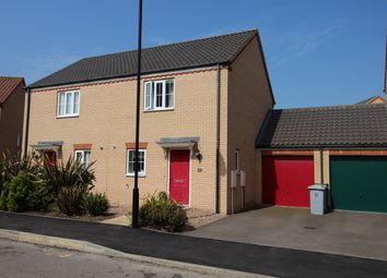 Thumbnail 2 bedroom semi-detached house to rent in Goodwood Drive, Bourne