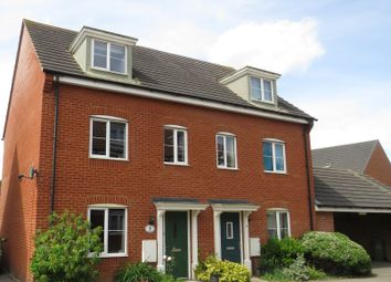 Thumbnail 3 bed semi-detached house for sale in Stirling Road, Carbrooke, Thetford