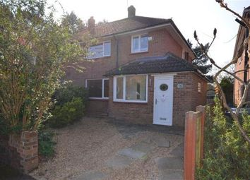Thumbnail 3 bed semi-detached house for sale in Wickham Road, Camberley, Surrey