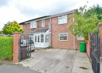 Thumbnail 4 bed semi-detached house to rent in Overlea Drive, Burnage, Manchester