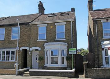 Thumbnail 4 bedroom end terrace house for sale in Belmont Road, Sittingbourne, Kent