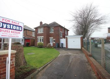 Thumbnail 3 bed detached house for sale in Crawford Avenue, Blackpool