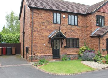 Thumbnail 3 bed semi-detached house for sale in The Spinney, Barrow Upon Humber