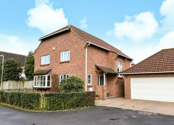 Thumbnail 4 bed detached house for sale in Oxlease Close, Romsey, Hampshire