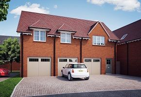 "Thumbnail 2 bed flat for sale in ""The Coach House"" at William Morris Way, Tadpole Garden Village, Swindon"
