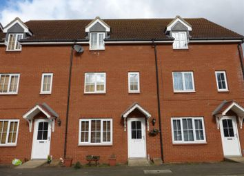 Thumbnail 3 bedroom town house for sale in Applewood Drive, Hampton Hargate, Peterborough