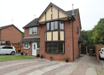 Thumbnail 2 bed semi-detached house for sale in Morston Drive, Clayton, Newcastle-Under-Lyme