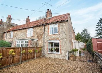 Thumbnail 2 bed semi-detached house for sale in North Creake, Fakenham, Norfolk
