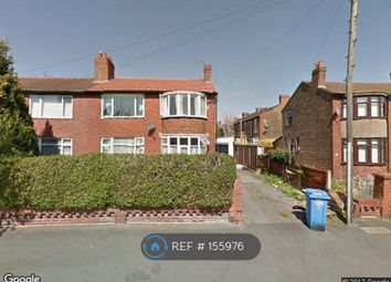 Thumbnail 4 bedroom semi-detached house to rent in Manley Road, Manchester